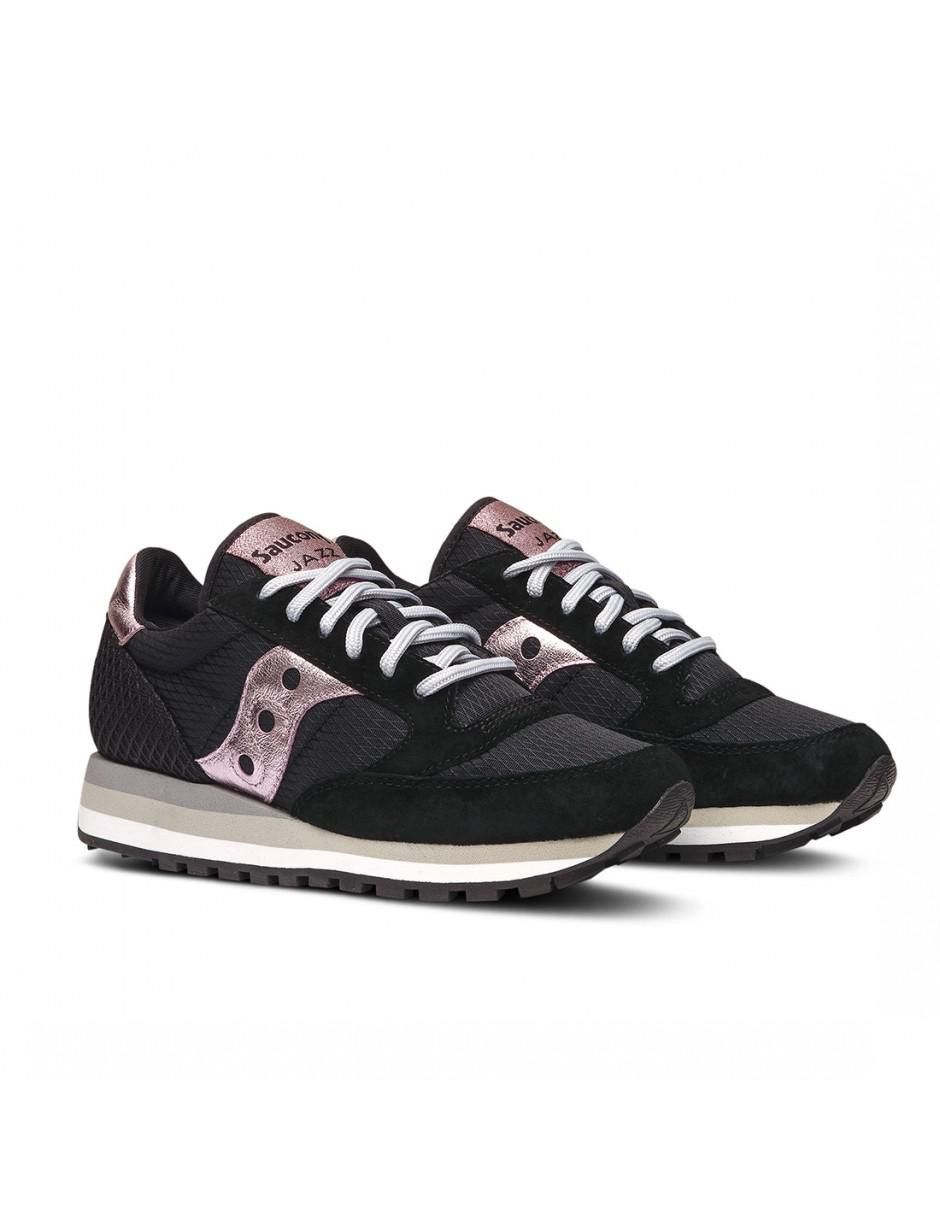 0ede4f496ec1 Lyst - Saucony Shoes Suede Trainers Sneakers Jazz O Triple in Black ...