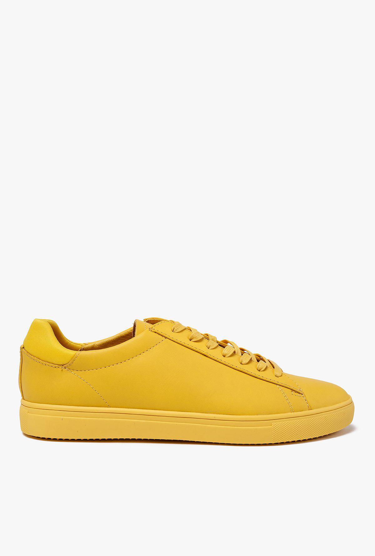Lyst - CLAE Bradley Sneaker in Yellow for Men 3c6cab6e7ff