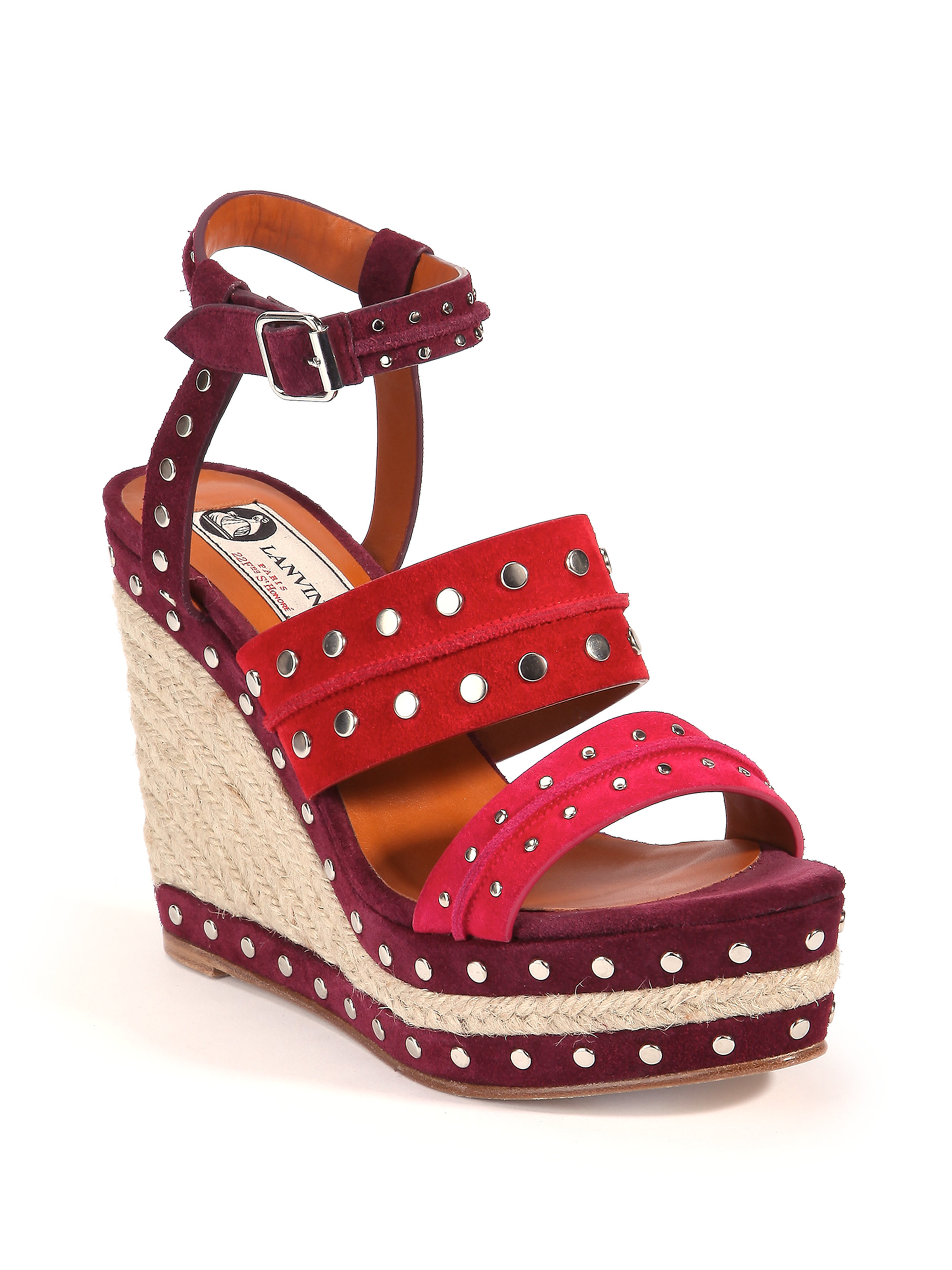 Pre-owned - Red Sandals Lanvin Free Shipping Ebay CRd9Az4C8