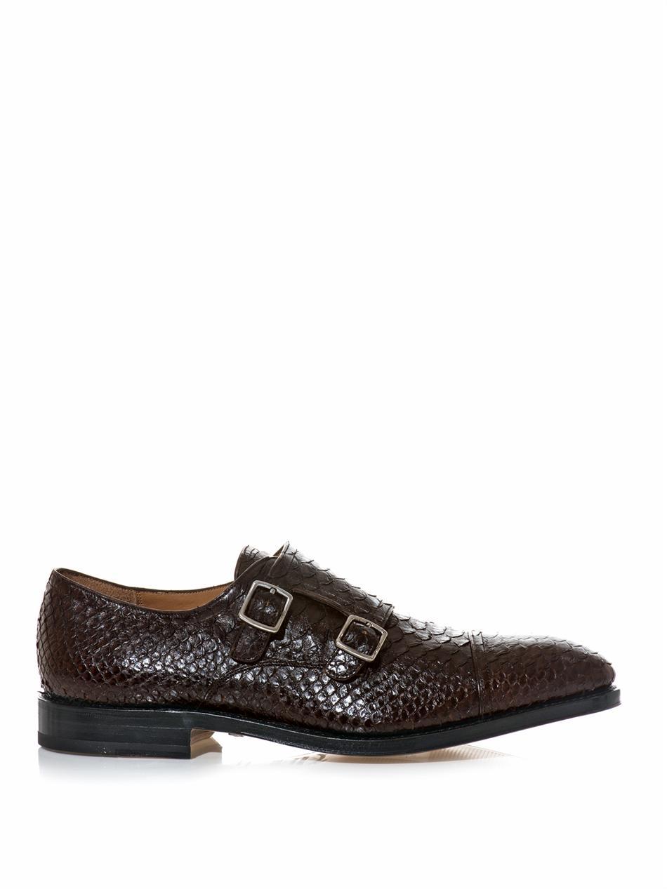Brown Monk Strap Shoes Men Images Different