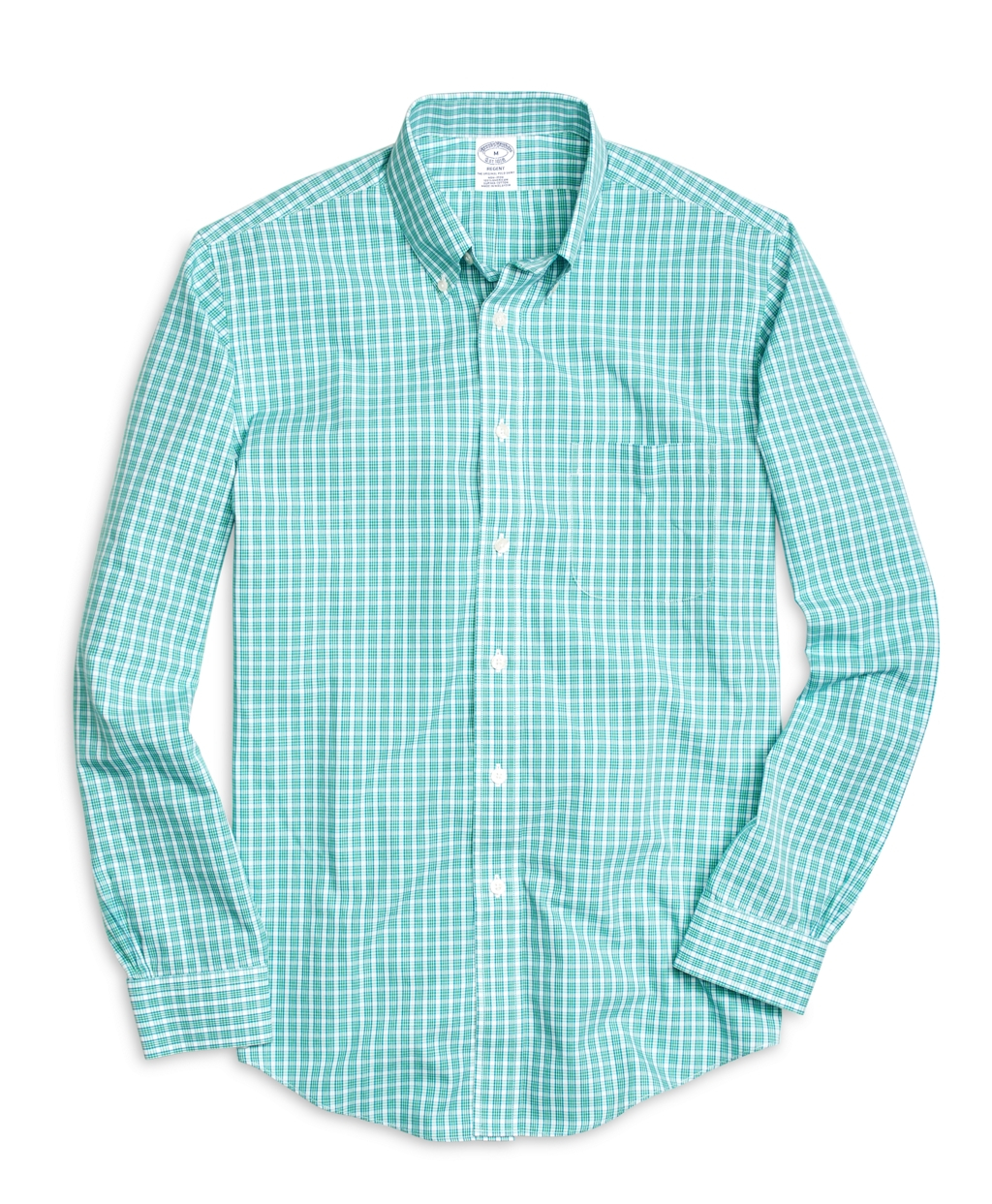 Brooks brothers non iron brookscool madison fit small for Brooks brothers non iron shirts review
