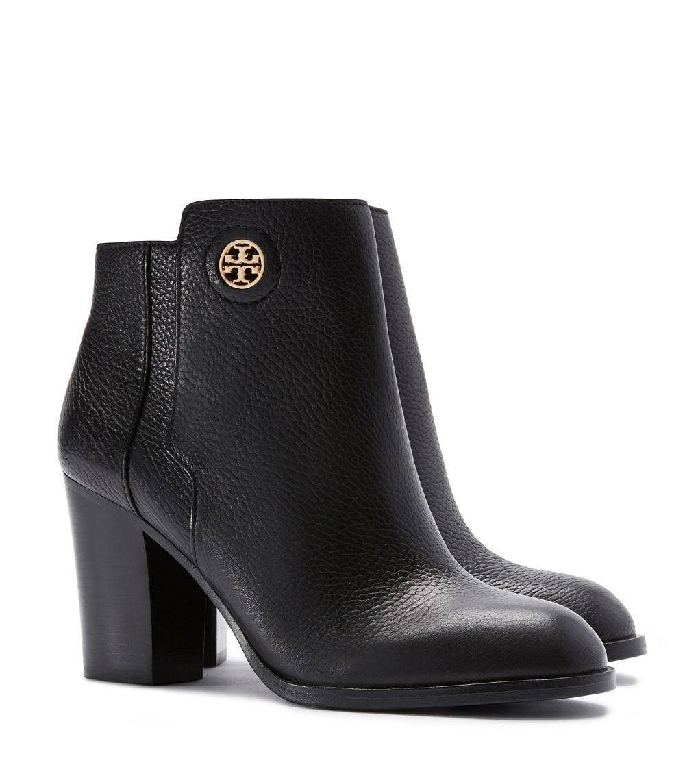 Lyst Tory Burch Junction Bootie In Black