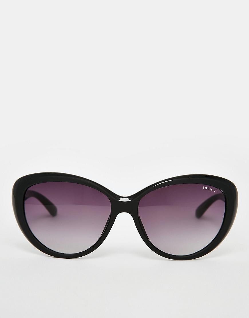 c005c258c4 Lyst - Esprit Cat Eye Sunglasses in Black