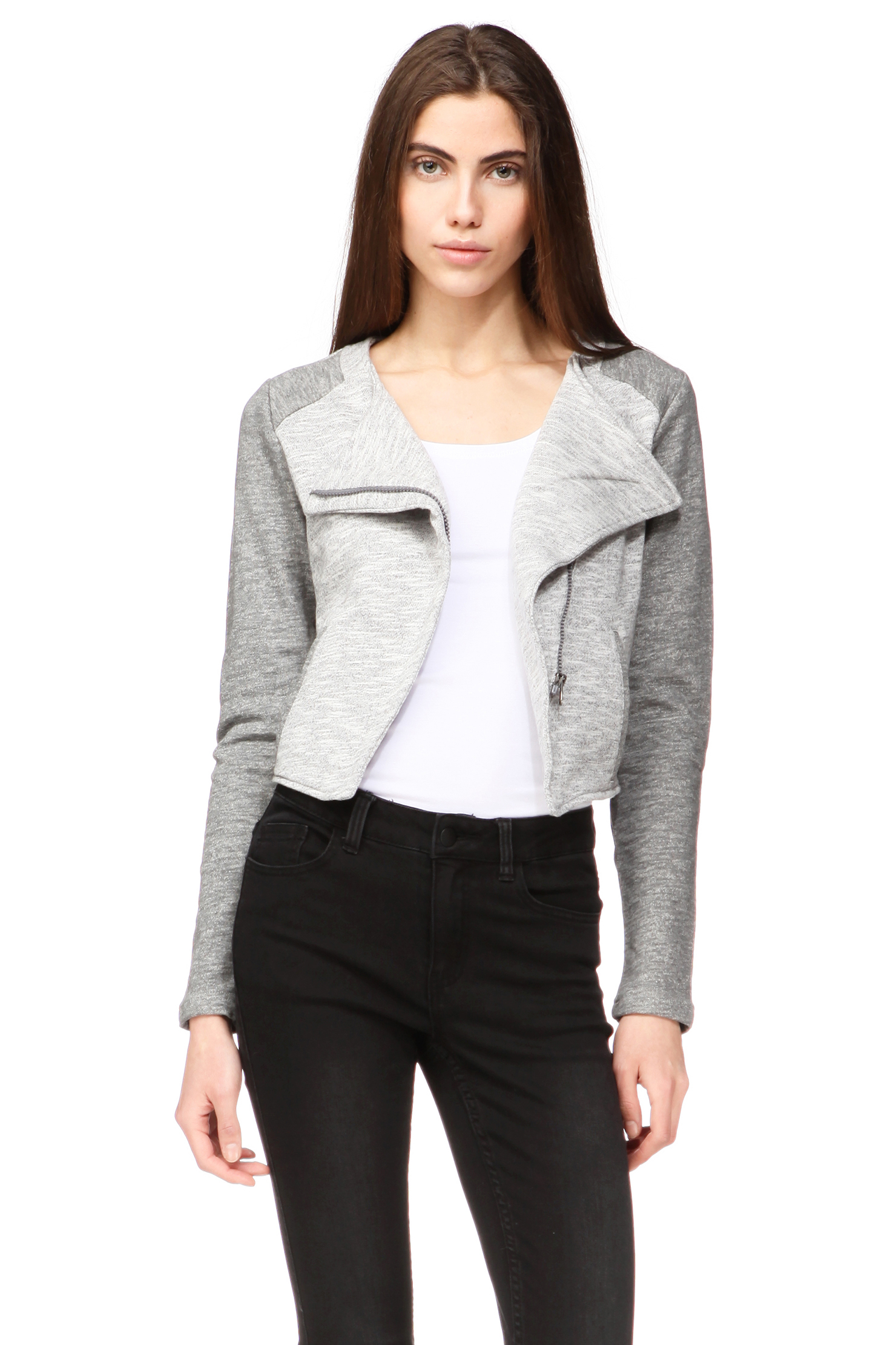 vero moda blazer in gray lyst