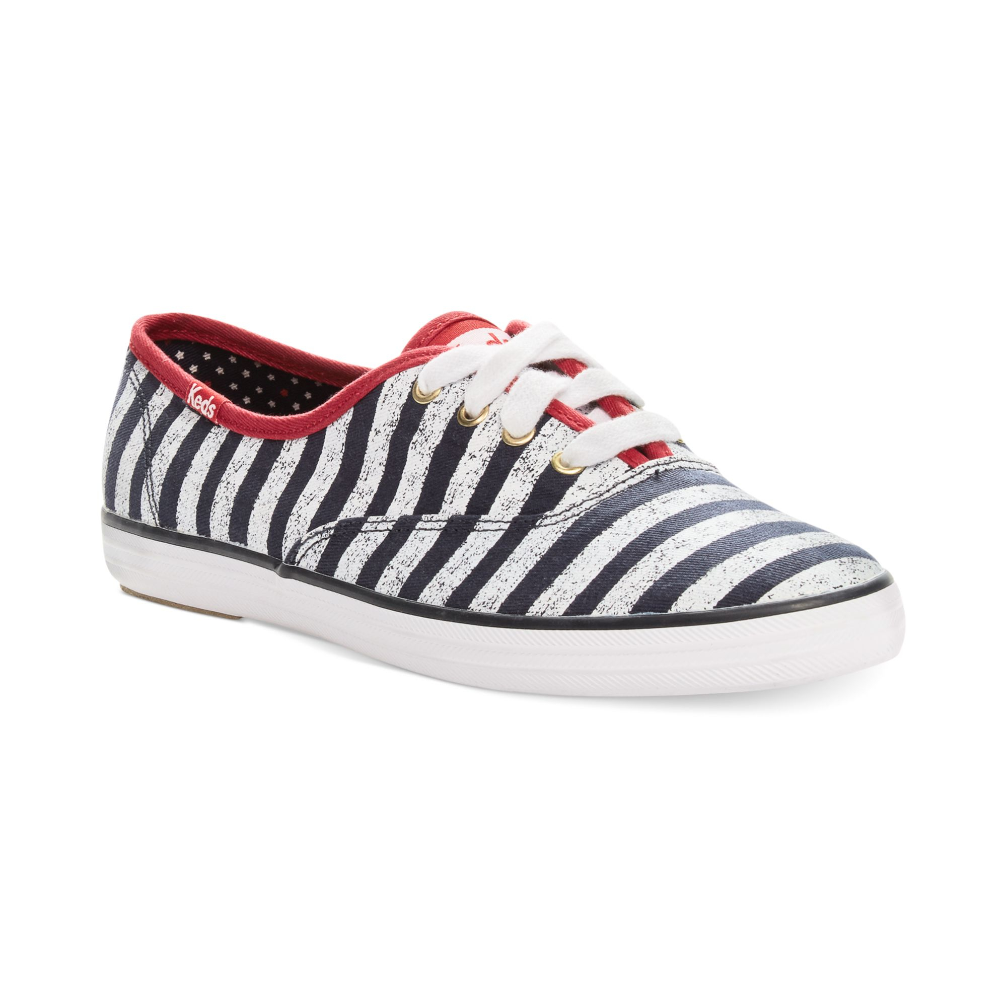 cf5e211b759 Lyst - Keds Champion Patriotic Stripes Sneakers in Blue