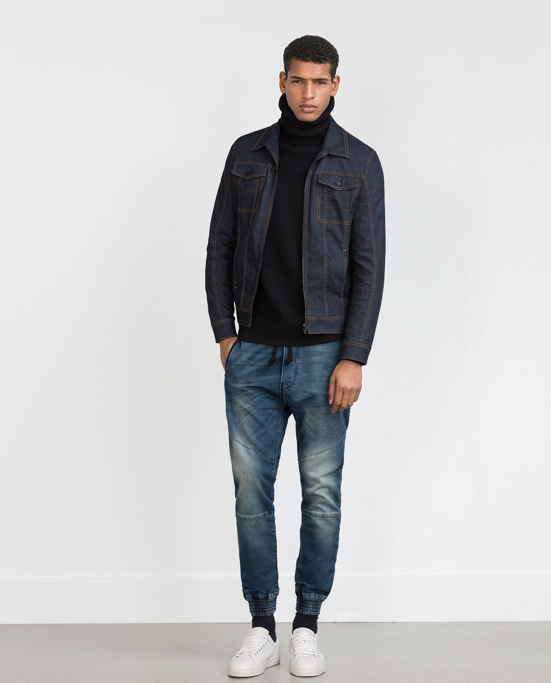 Zara Baggy Jeans Baggy Jeans in Blue for Men | Lyst