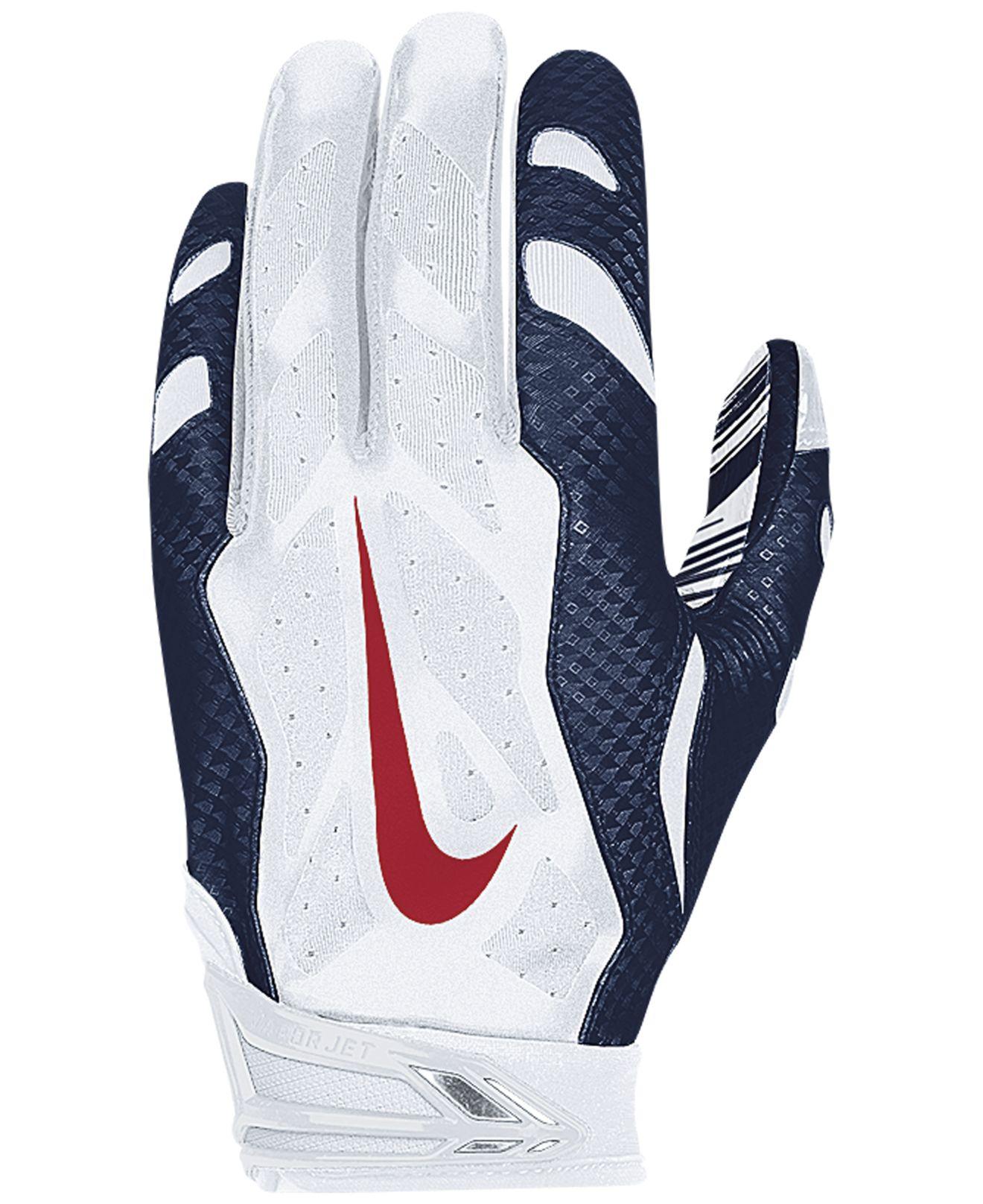 Lyst - Nike New England Patriots 30 Vapor Jet Gloves in Blue for Men 30ed2a6c6