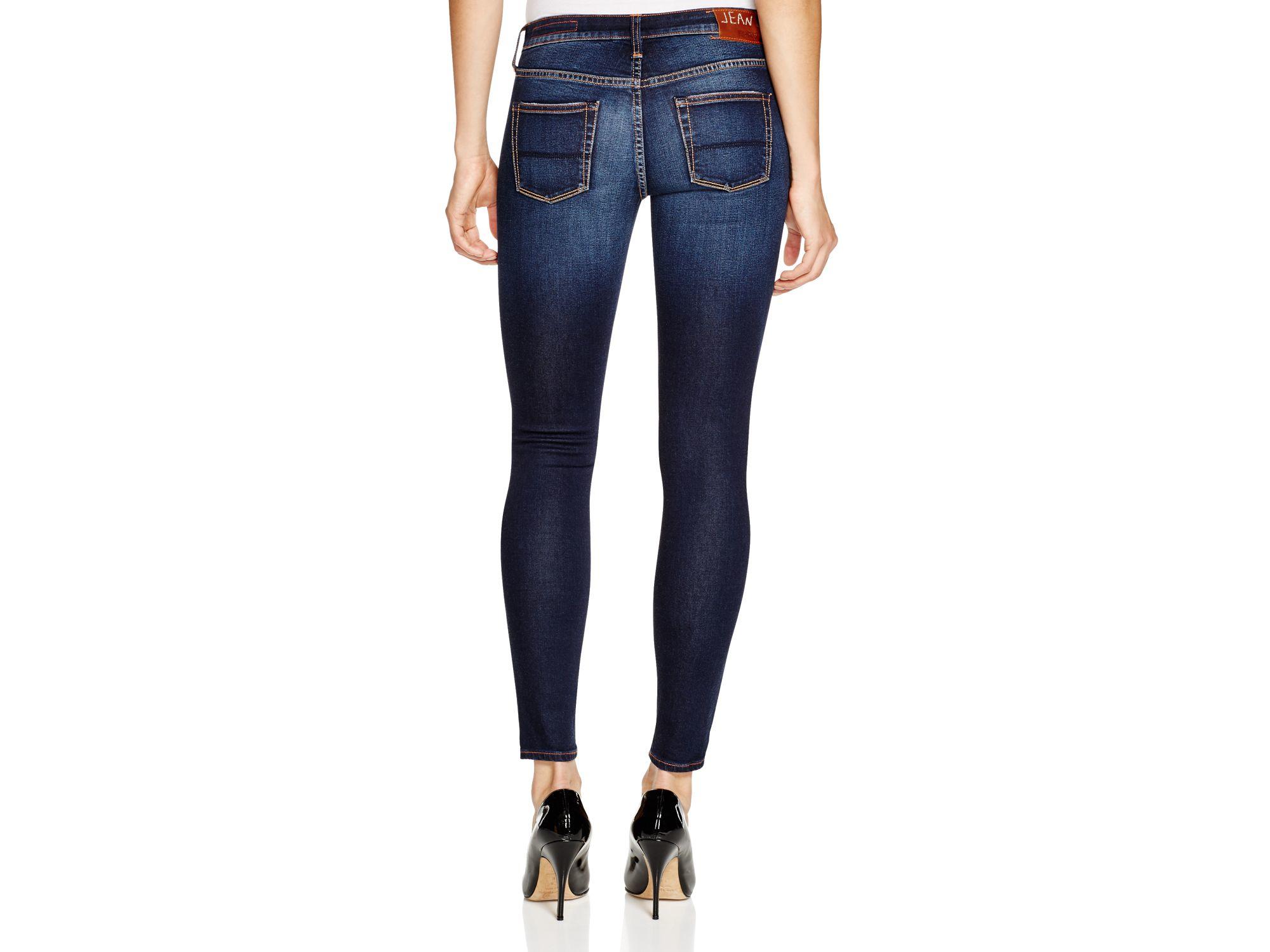 Jean shop Lana Mid-rise Skinny Jeans in Blue | Lyst