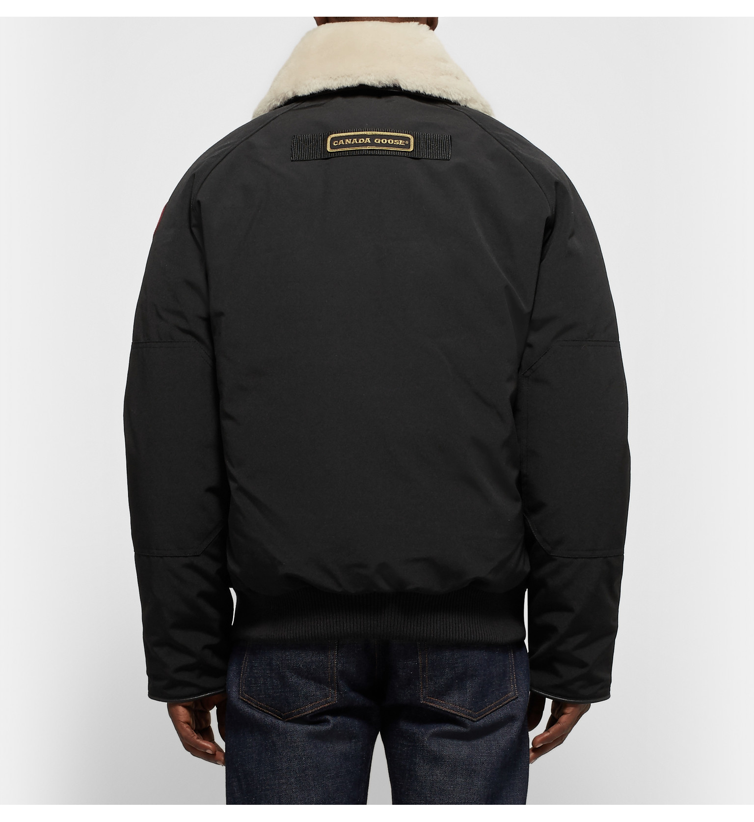 Canada Goose victoria parka replica 2016 - Canada goose Foxe Shearling And Leather-trimmed Shell Down Bomber ...