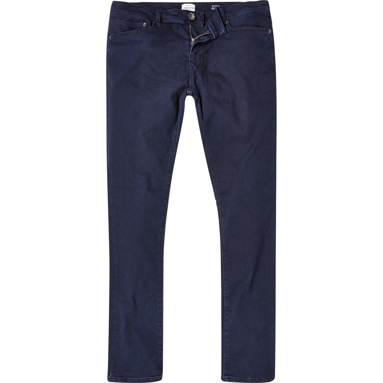River Island Blue B Monday Jeans
