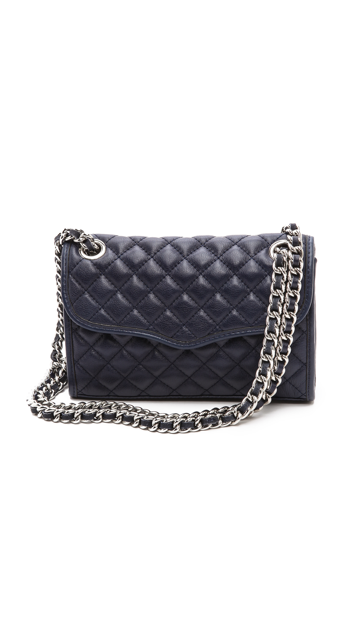 Rebecca Minkoff Quilted Mini Affair Bag In Black Sapphire