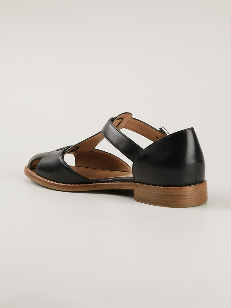 with paypal free shipping cheap sale websites Church's Kelsey Multistrap Flats Jk2zDx
