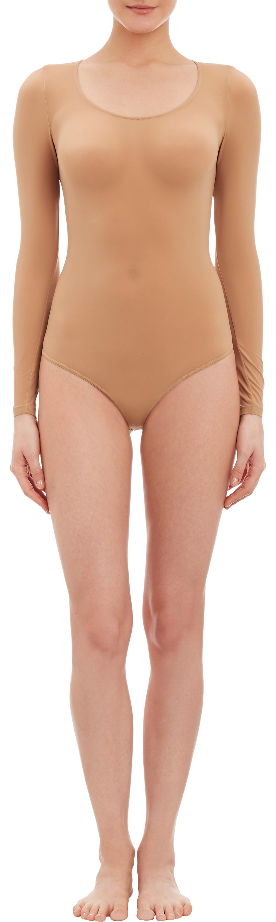Wolford Buenos Aires Sheer String Bodysuit in Natural - Lyst ac191429499