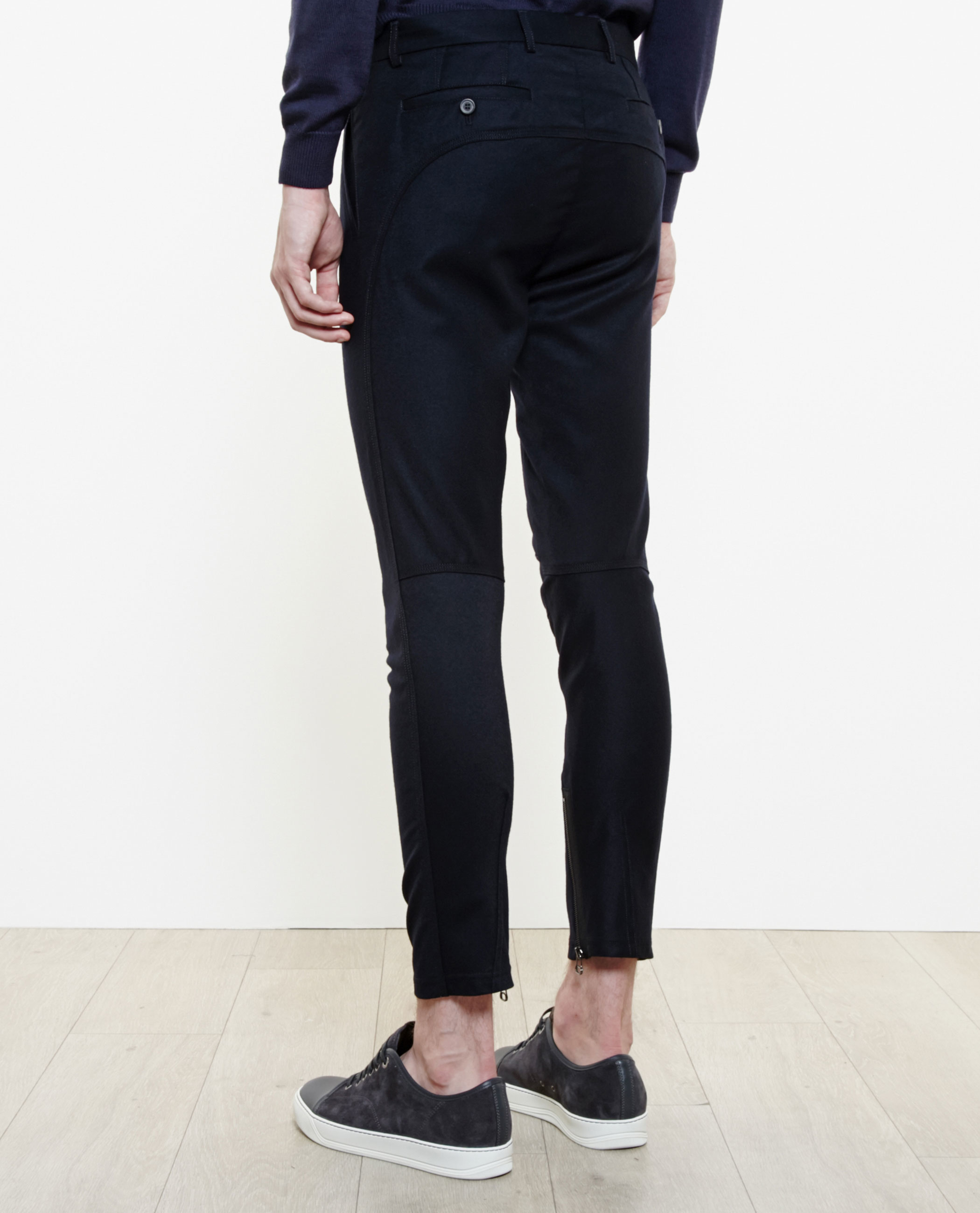 ruched biker trousers - Blue Lanvin Cxj0P6gk