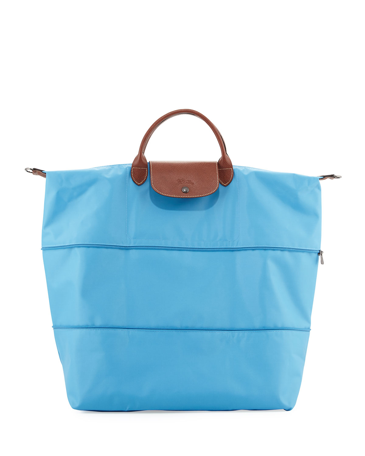 0e03391ca818 Lyst - Longchamp Le Pliage Expandable Travel Bag in Blue