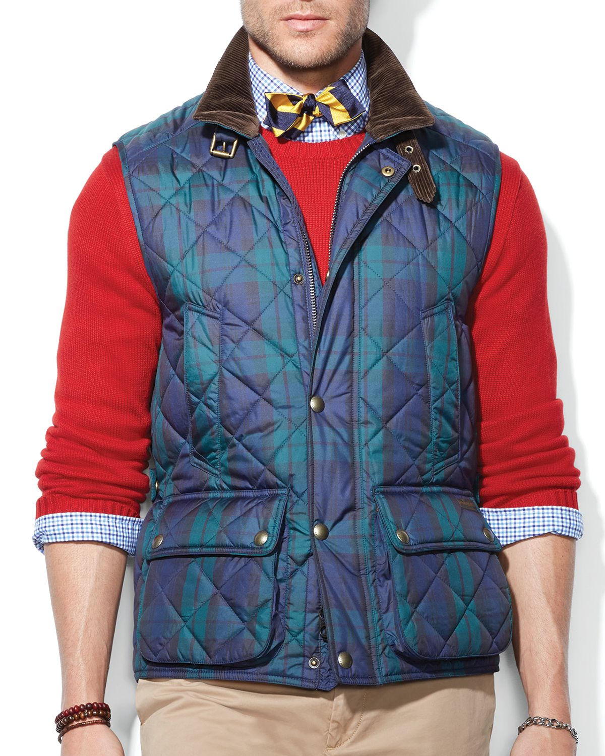 Lyst - Ralph lauren Polo Quilted Vest in Blue for Men : polo quilted vest - Adamdwight.com