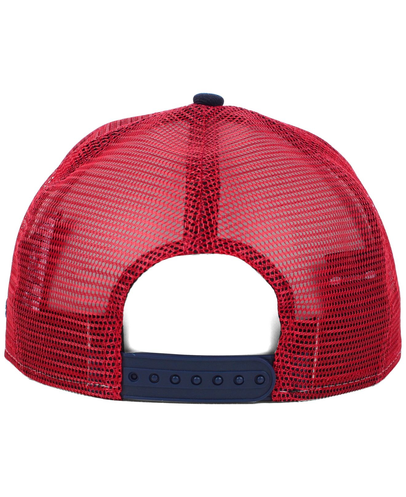 08d71b1a05f334 KTZ Boston Red Sox Trucker A-frame 9fifty Snapback Cap in Blue for ...