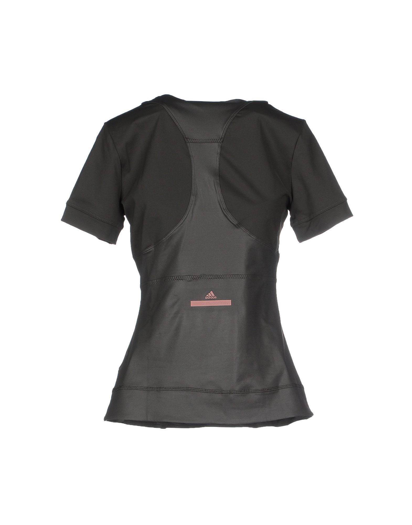 Stella mccartney t shirt in gray lyst for Stella mccartney t shirt