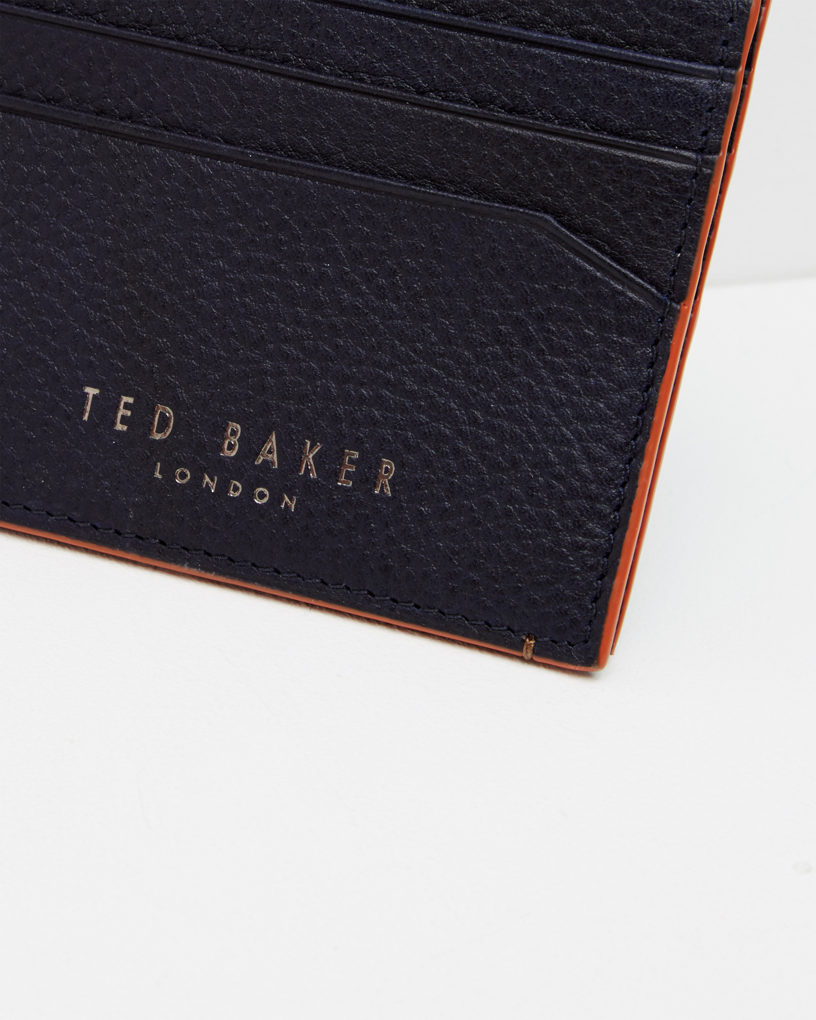 119ca09576a746 Lyst - Ted Baker Contrast Edge Card Holder in Blue for Men