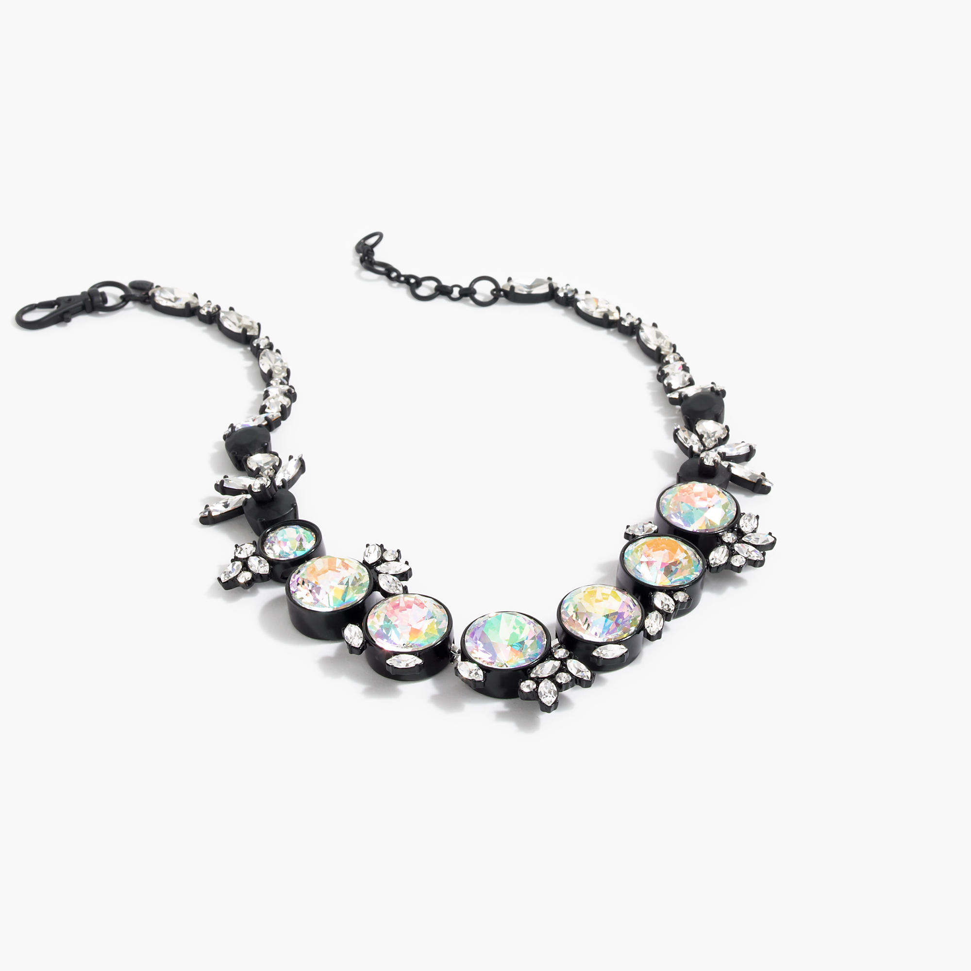 jewelry moma iridescent a accessories meteor color necklace design in store