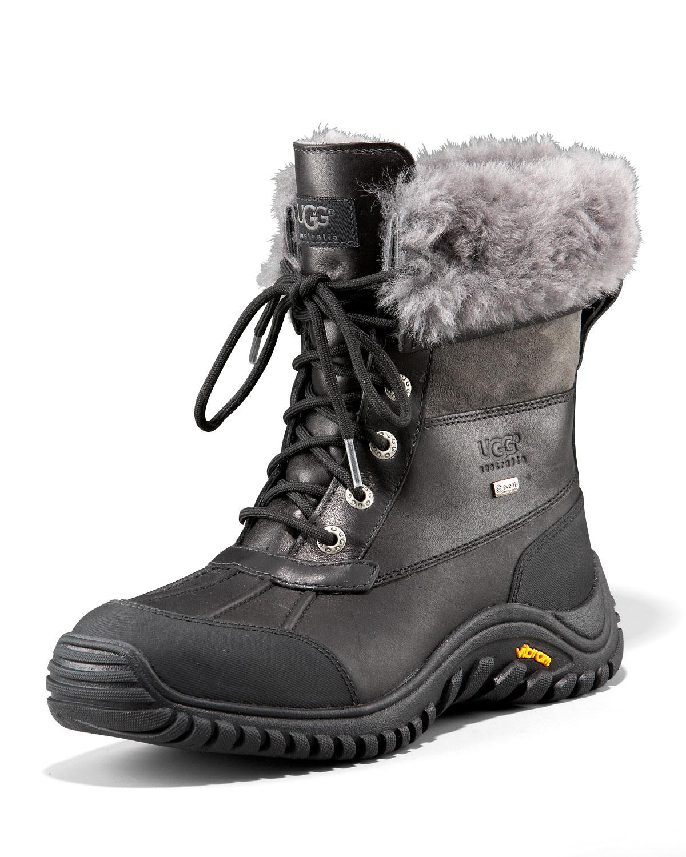Lyst Ugg Adirondack Lug Sole Boot In Black For Men
