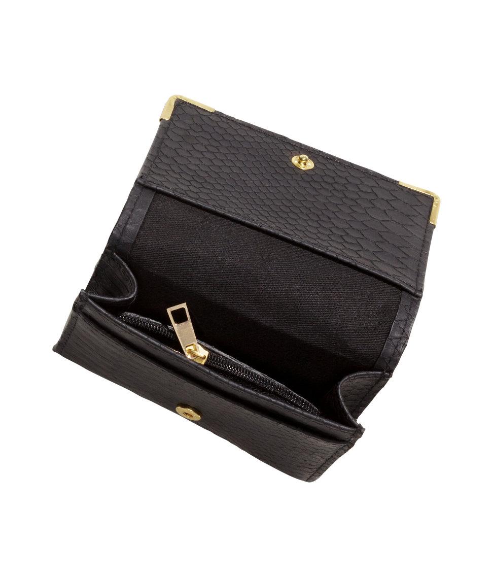lyst h m purse in black. Black Bedroom Furniture Sets. Home Design Ideas