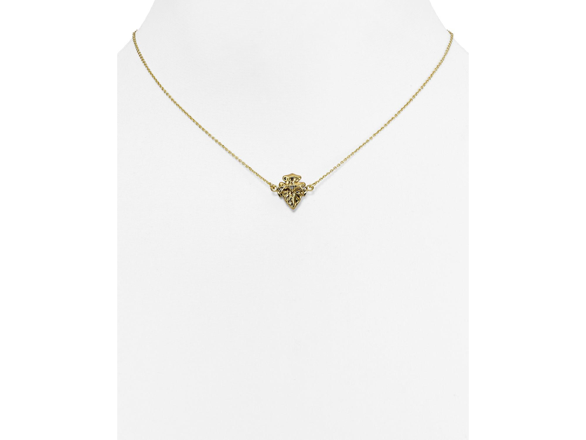 Lyst house of harlow 1960 mini mojave pendant necklace 15 in gallery mozeypictures Gallery