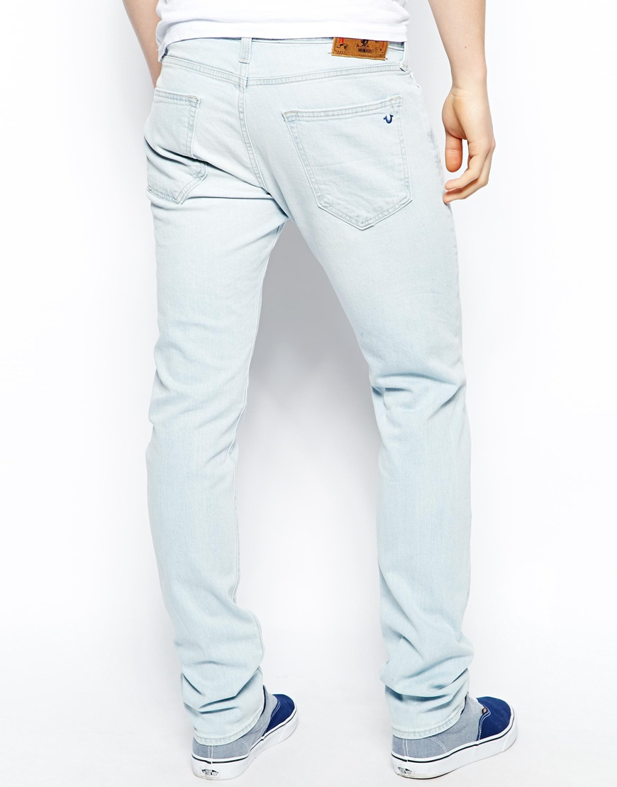 Levi's men's straight leg Original Fit Sky Blue denim Jeans 29 x 30 See more like this Raw X Jeans Mens Wear Vintage Inspired Quality Clothing Slim/ Skinny SKY BLUE .