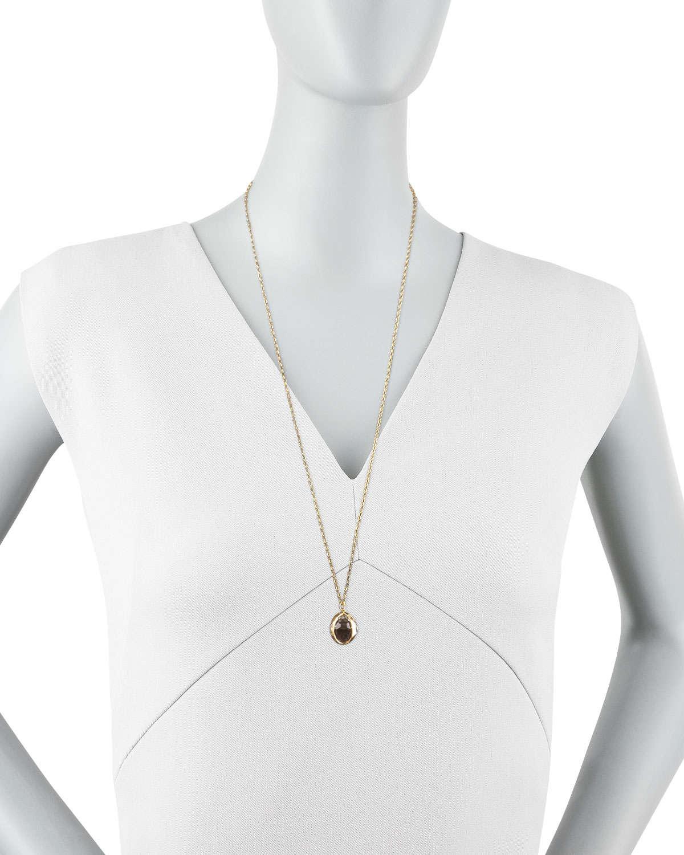 Monica Rich Kosann Petite Sunburst Locket Necklace wPIqwojxMM