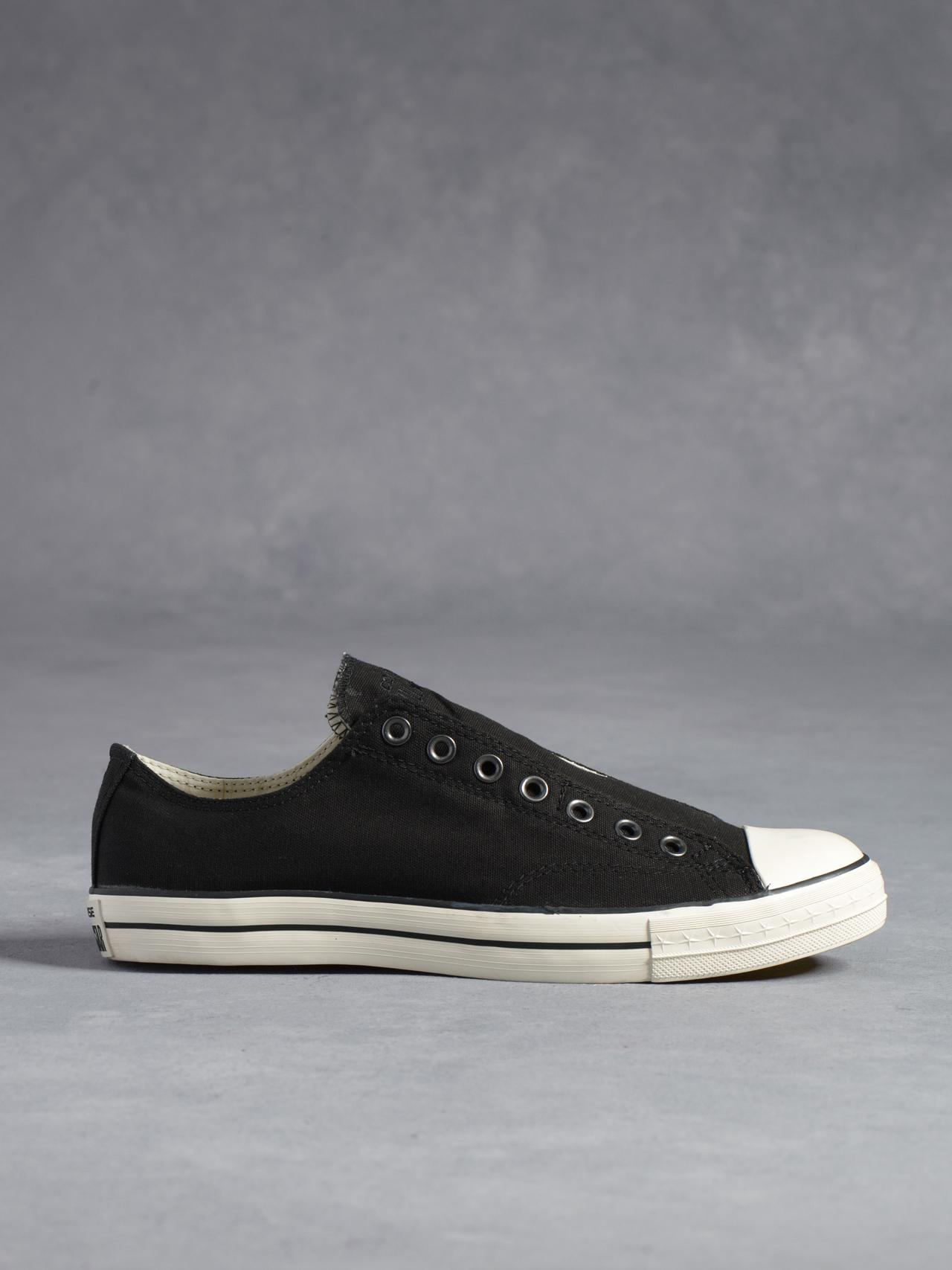 Lyst - John Varvatos Chuck Taylor Low Top Laceless in Black for Men f7fa1620c