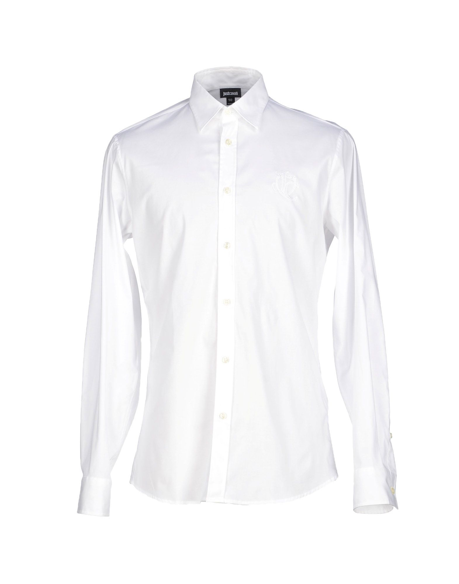 just cavalli shirt in white for men save 16 lyst