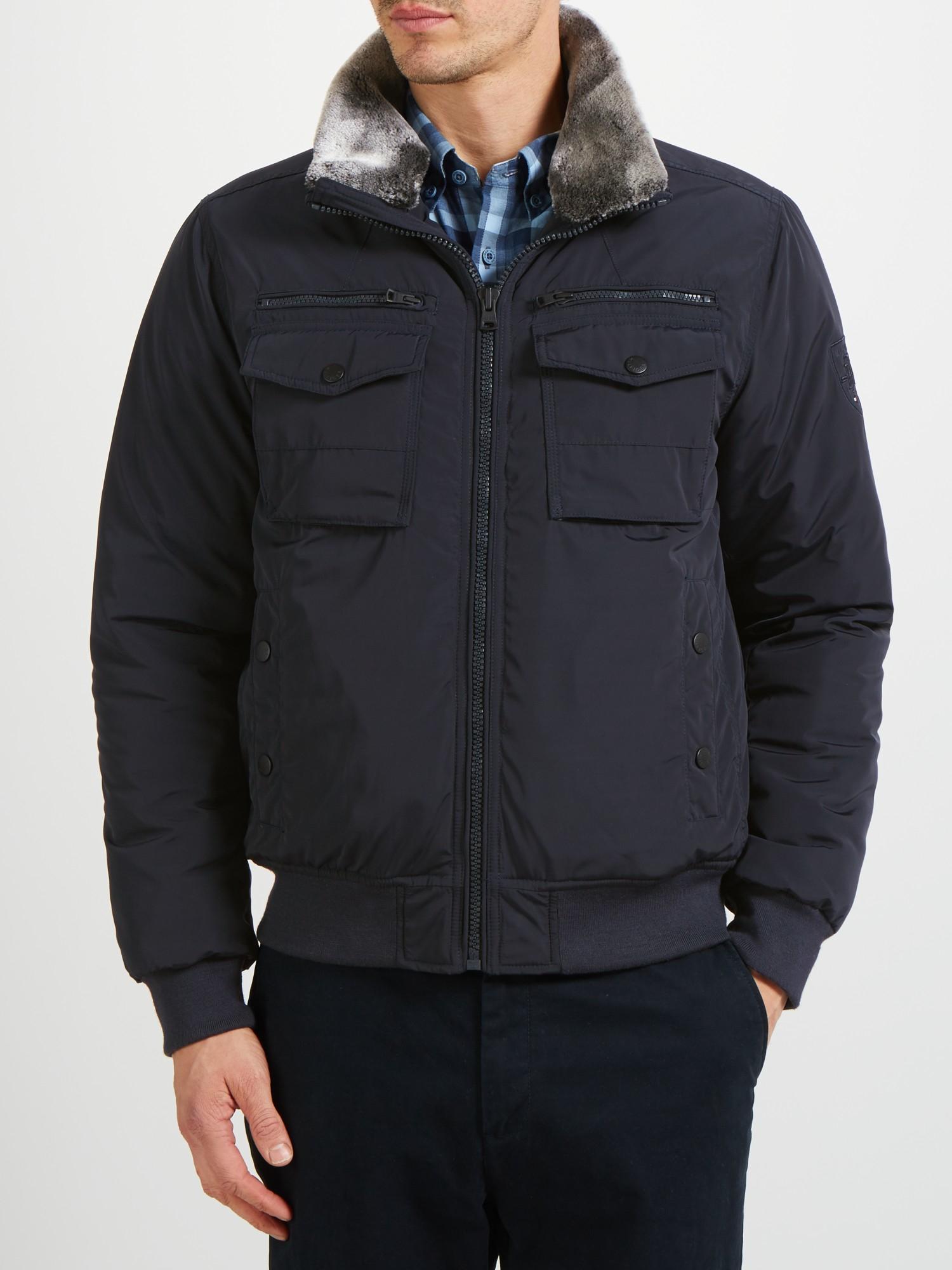 Tommy hilfiger ken bomber jacket black – Modern fashion jacket ...