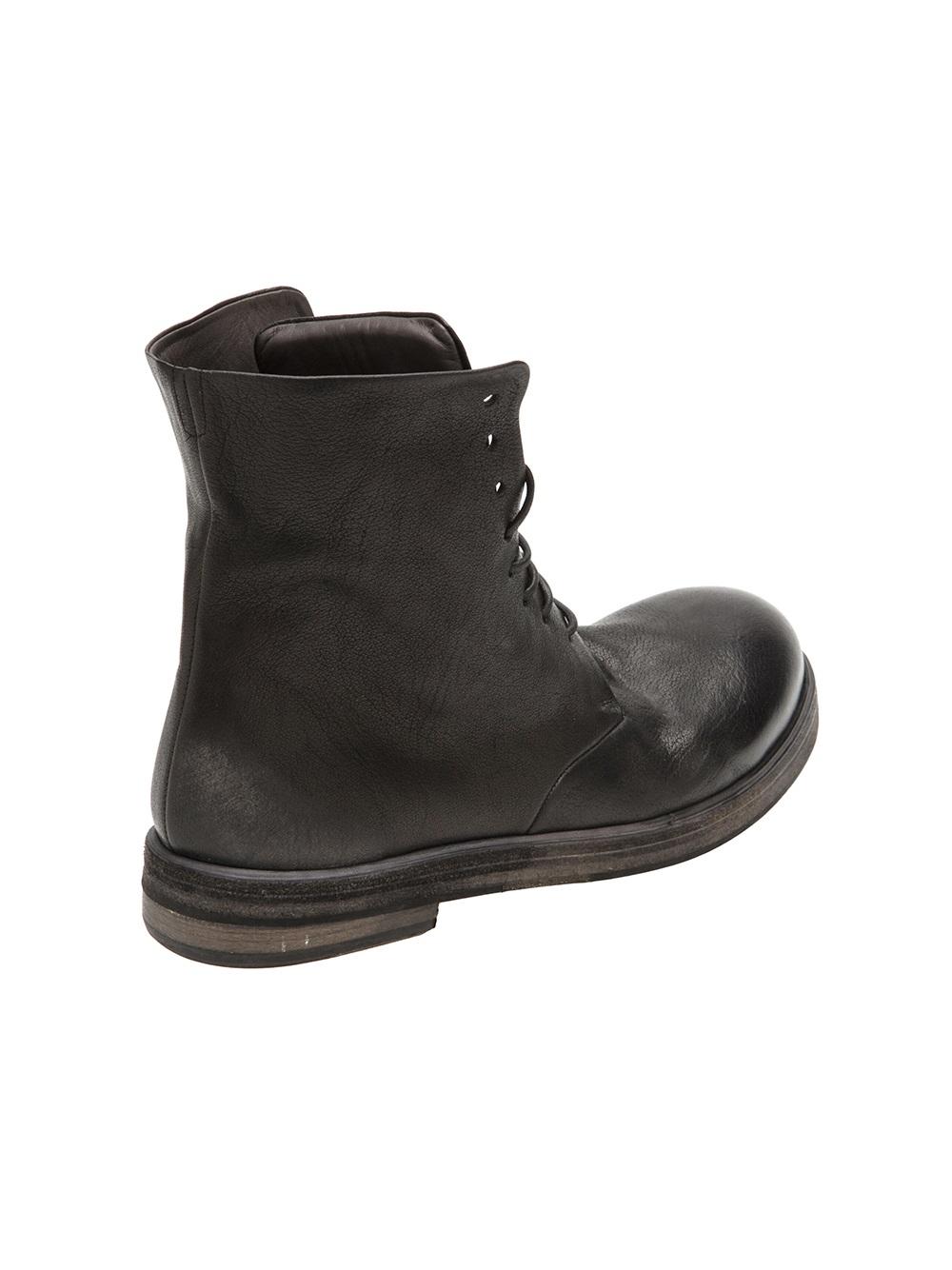 Maison Margiela Grey Zucca Zeppa Boots fmErc7a