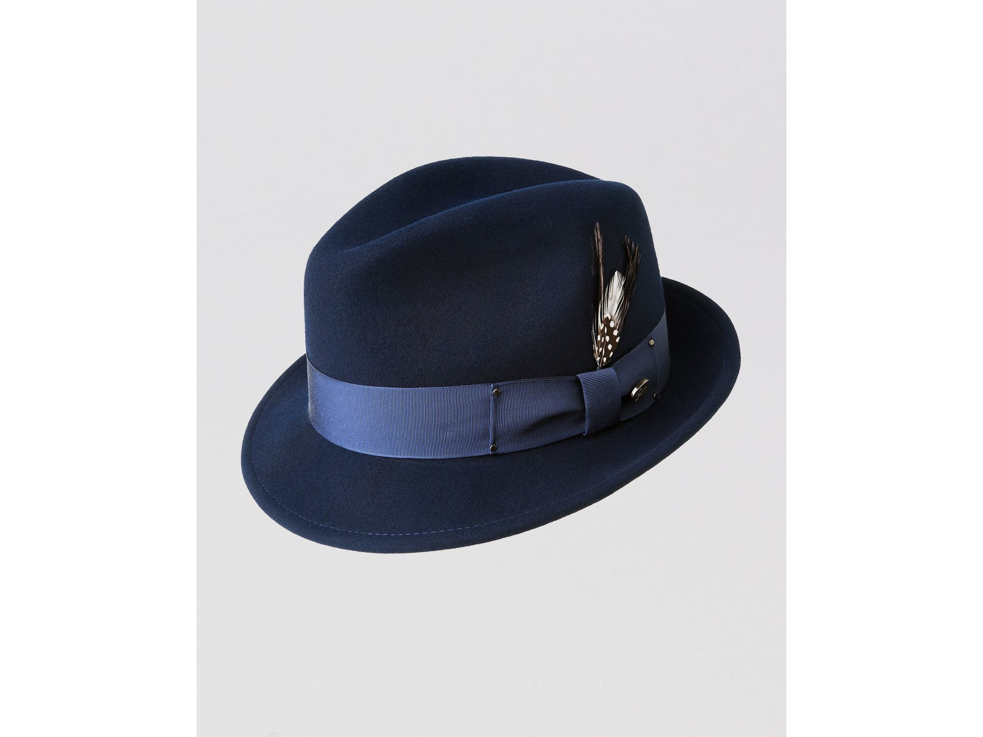 b8353b6ad2f48 Bailey of Hollywood Tino Fedora in Blue for Men - Lyst