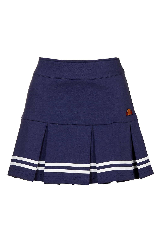 topshop ellesse tennis skirt in blue lyst