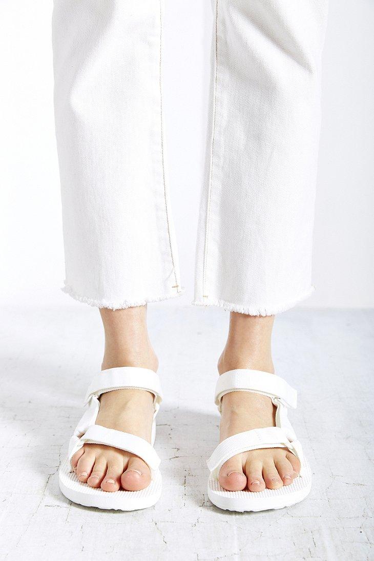 Teva Original Universal Sandal In White Lyst