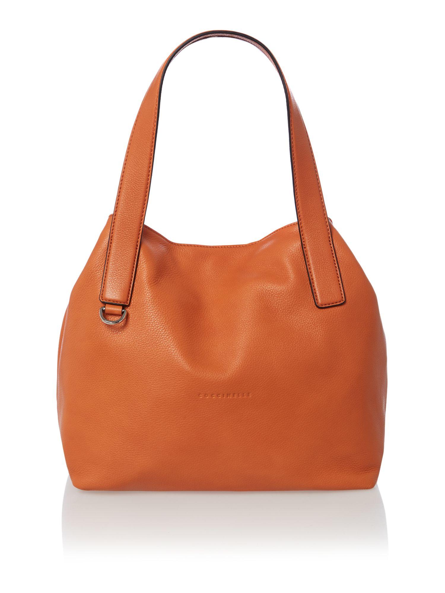Coccinelle Orange Hobo Bag in Orange | Lyst
