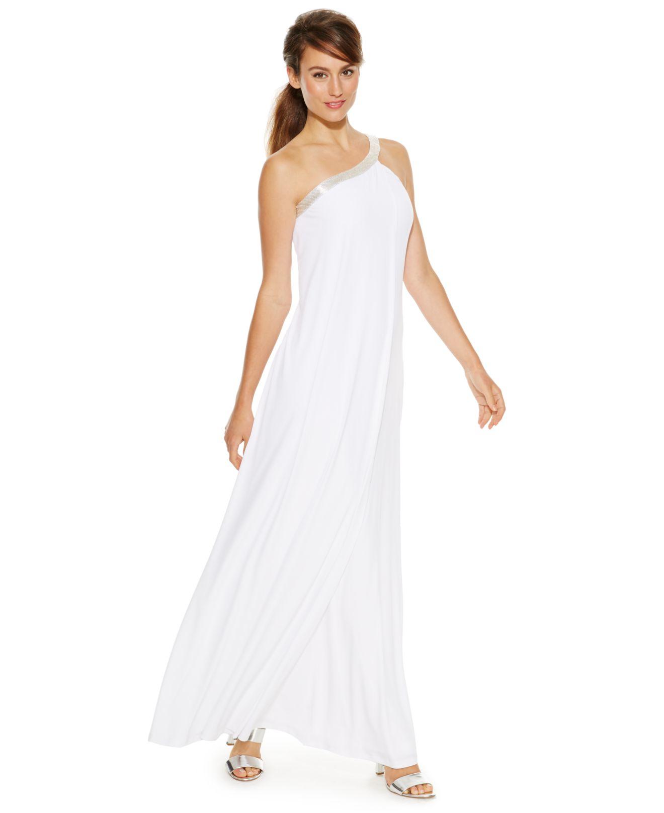 ead6694acf7cf White Long Dresses At Macys