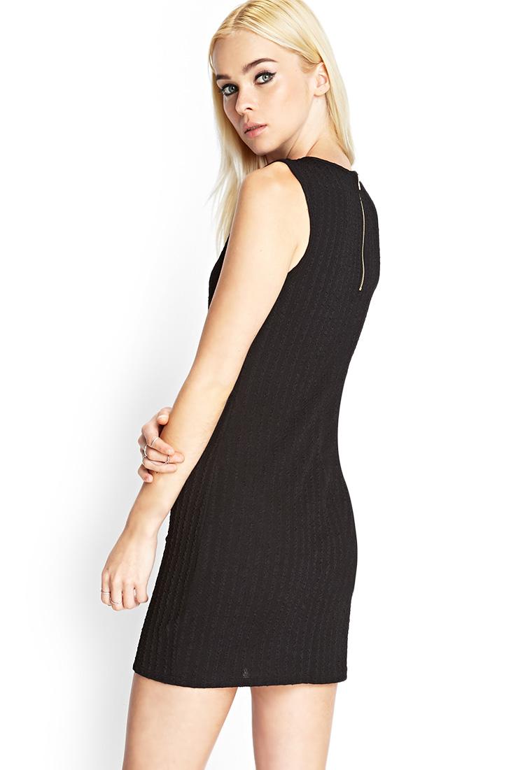 Black sleeveless dress forever 21