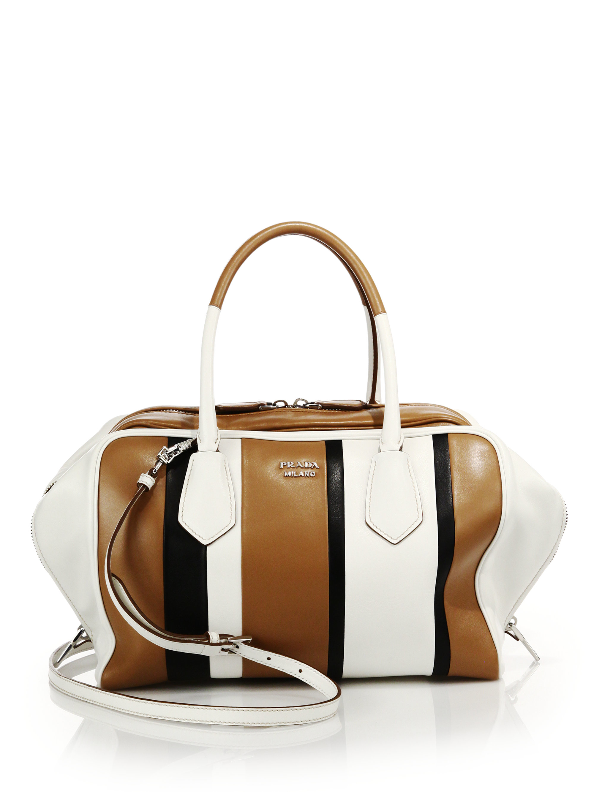 orange prada handbags - prada inside bag white