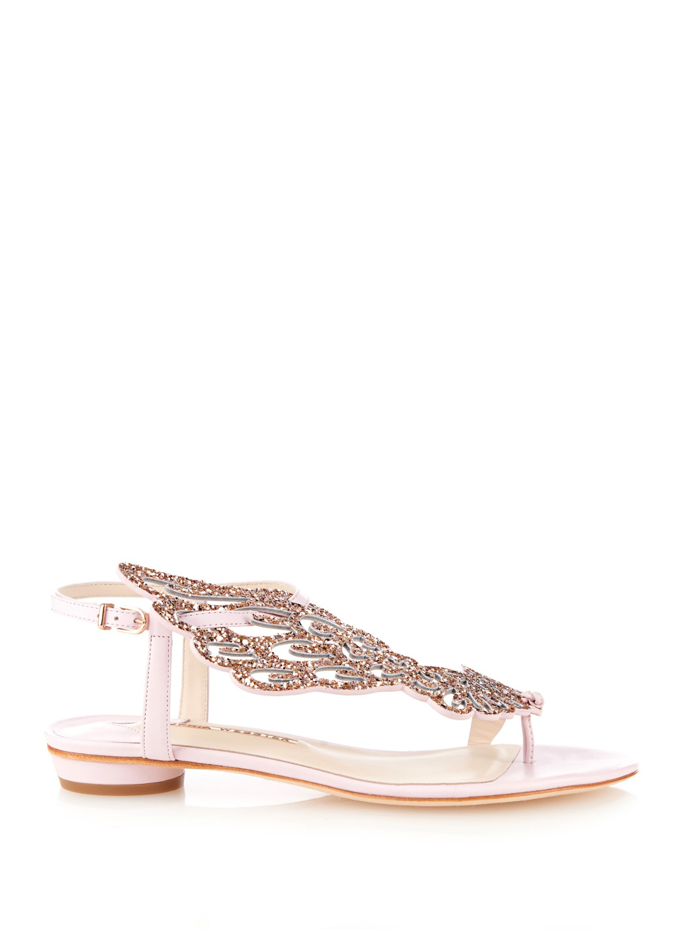 Lyst Sophia Webster Seraphina Angel Wing Sandals In Pink