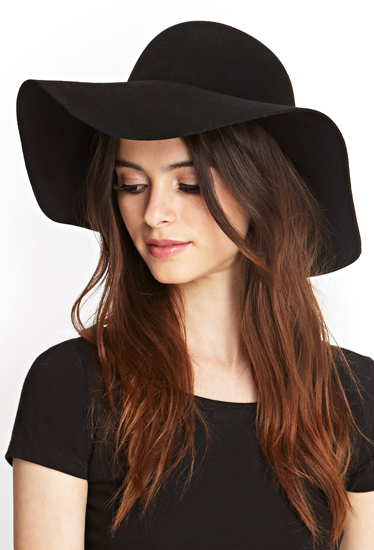 Black Wool Floppy Hat - Hat HD Image Ukjugs.Org a0747075200
