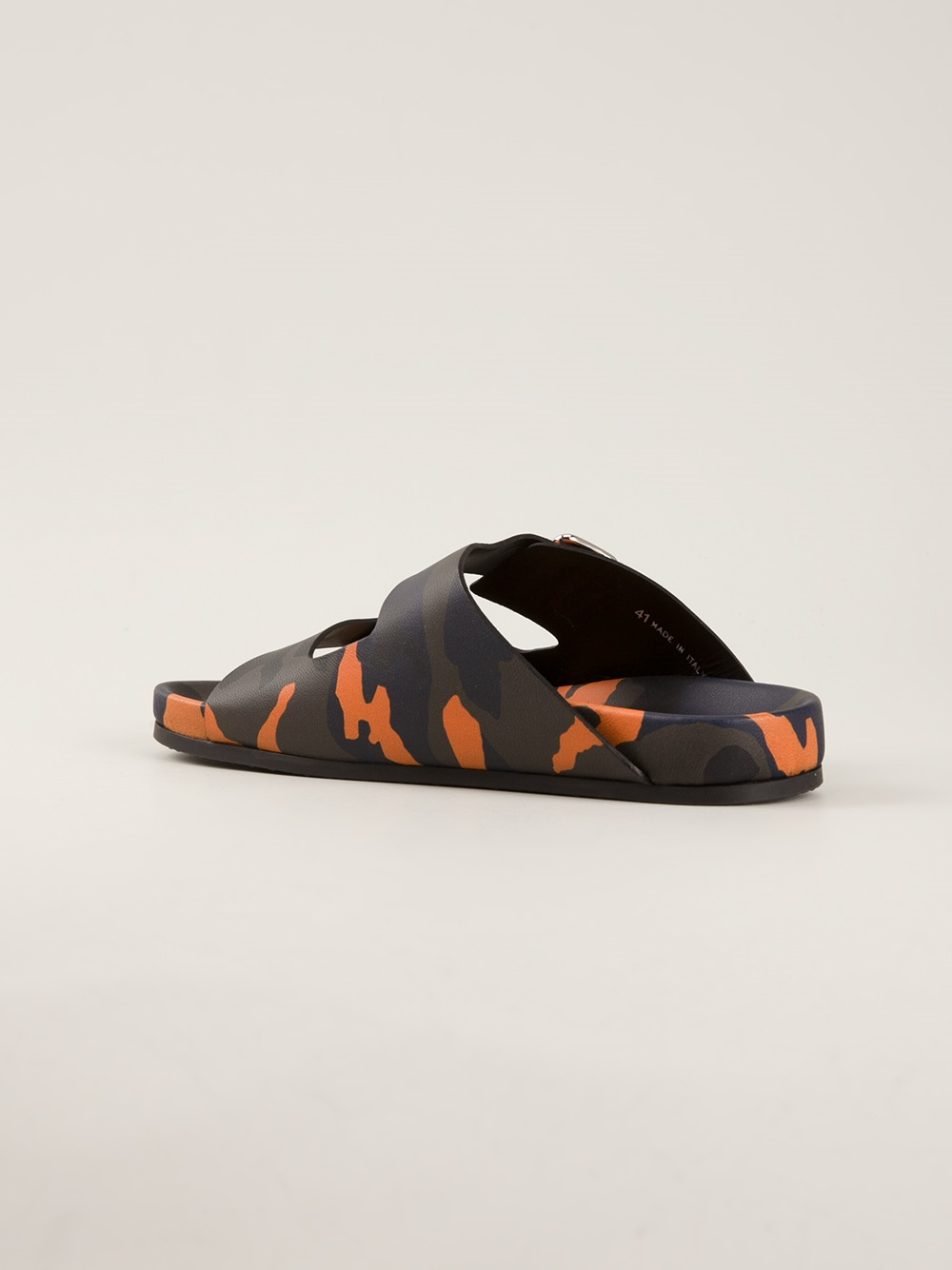Lyst Givenchy Camouflage Print Sandal In Green For Men