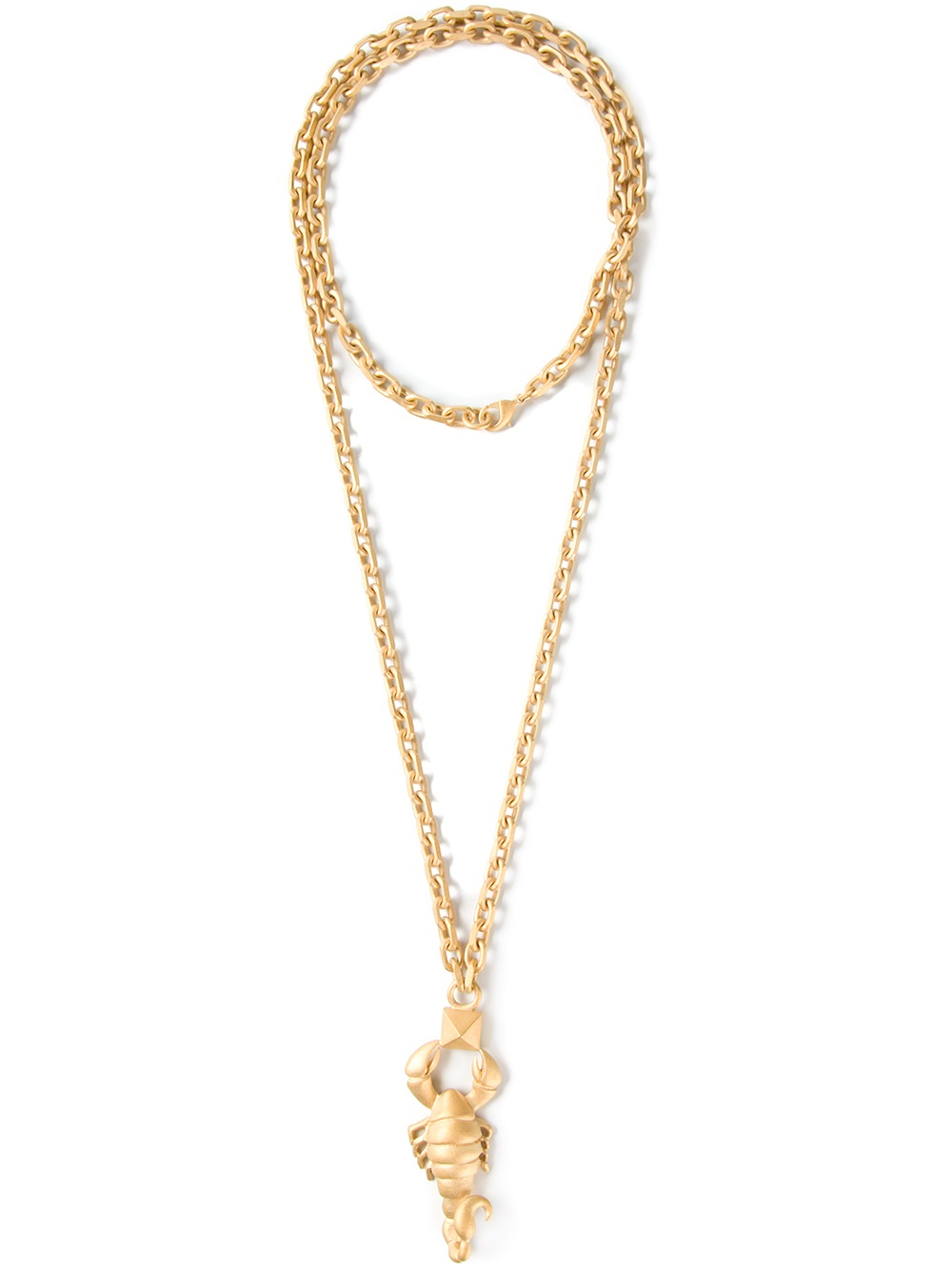 Valentino Valentino Woman Scorpio Gold-tone Necklace Gold Size adZ78