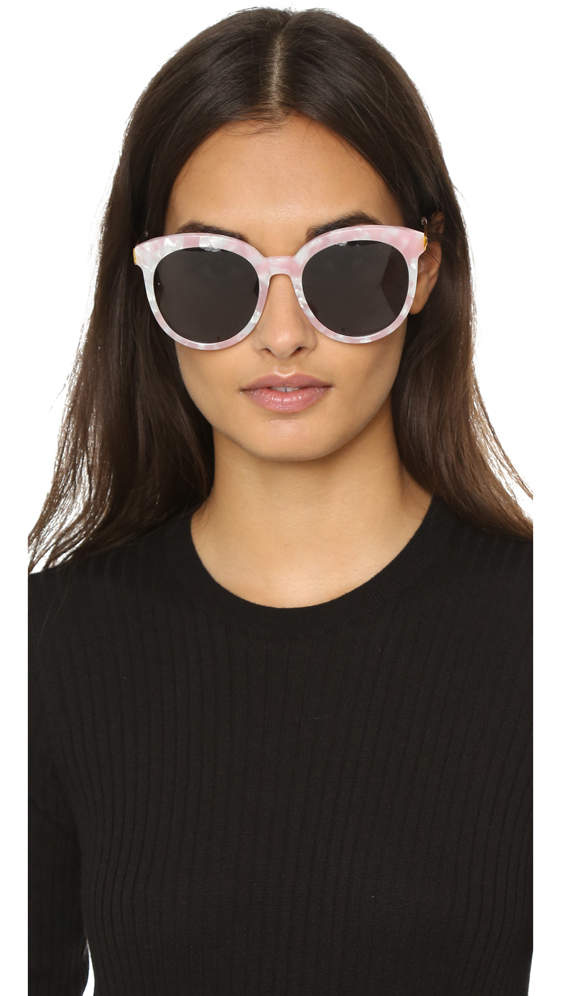 abbff46cd14 Lyst - Gentle Monster Lovesome Sunglasses - Pink Black in Pink
