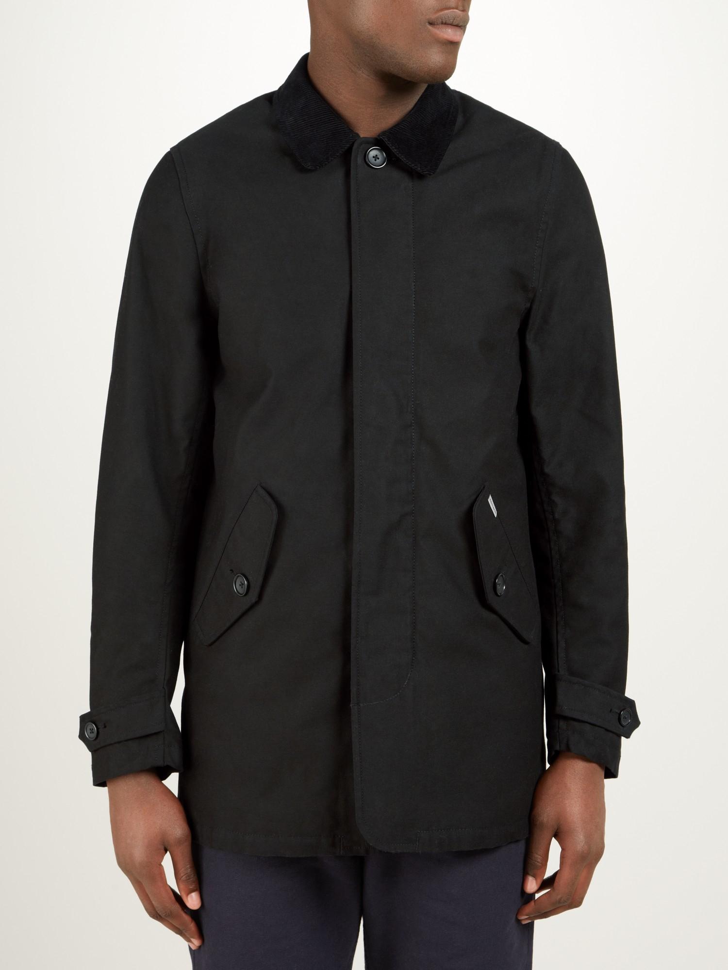 how to clean carhartt hickman coat