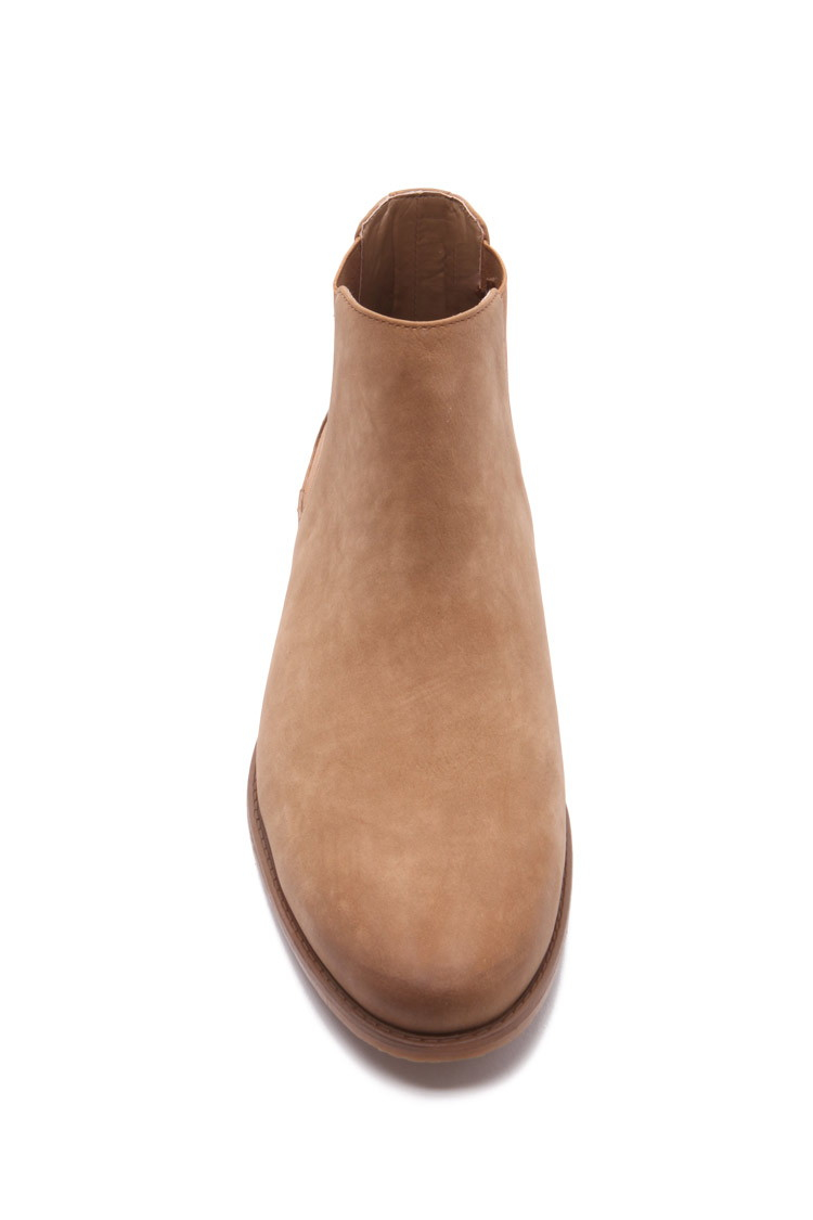 offer find workmanship high quality materials Forever 21 Brown Men Faux Suede Chelsea Boots for men