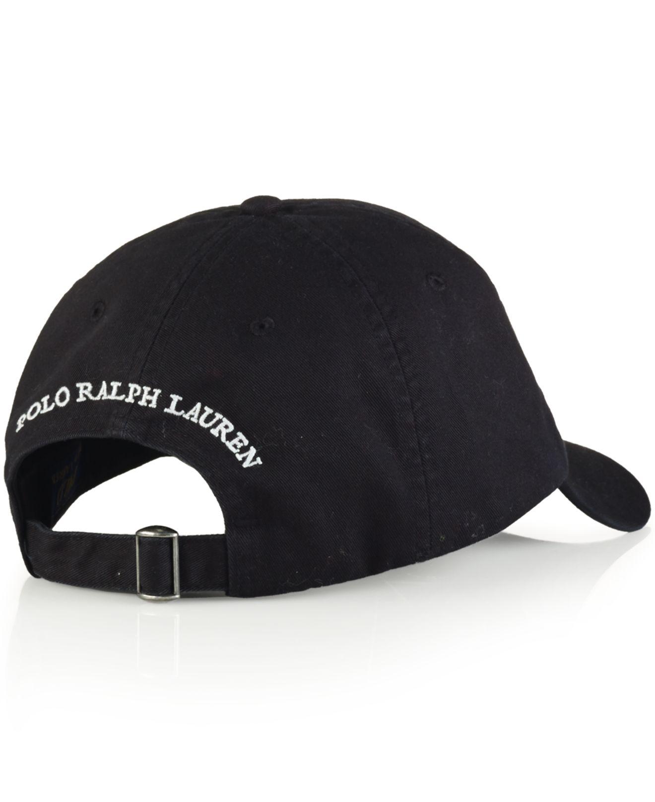 Polo Ralph Lauren Chino Baseball Cap - Parchment N Lead 167815d5e94b