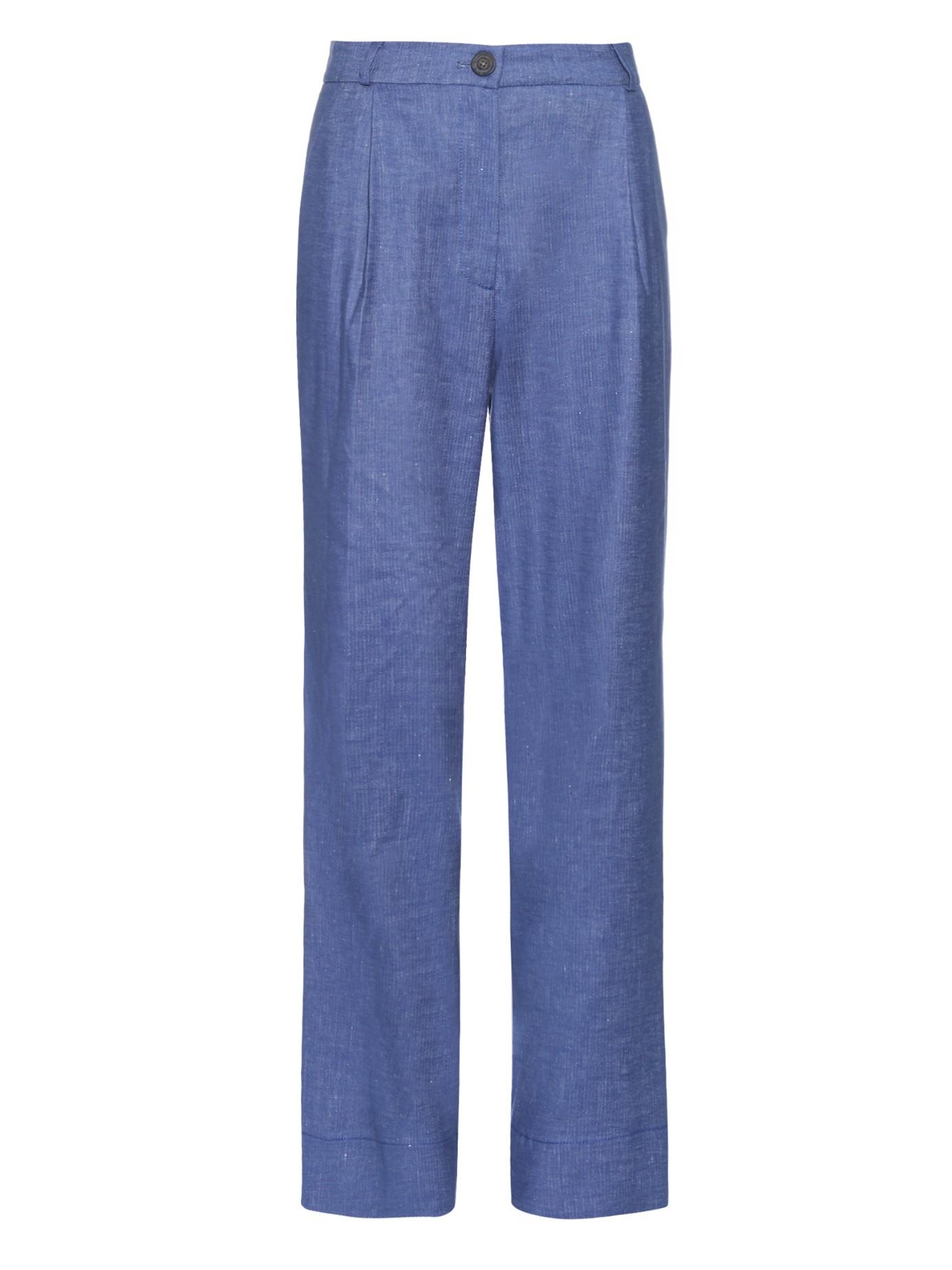 Vivienne westwood anglomania Wide-leg Pleated Denim Trousers in ...