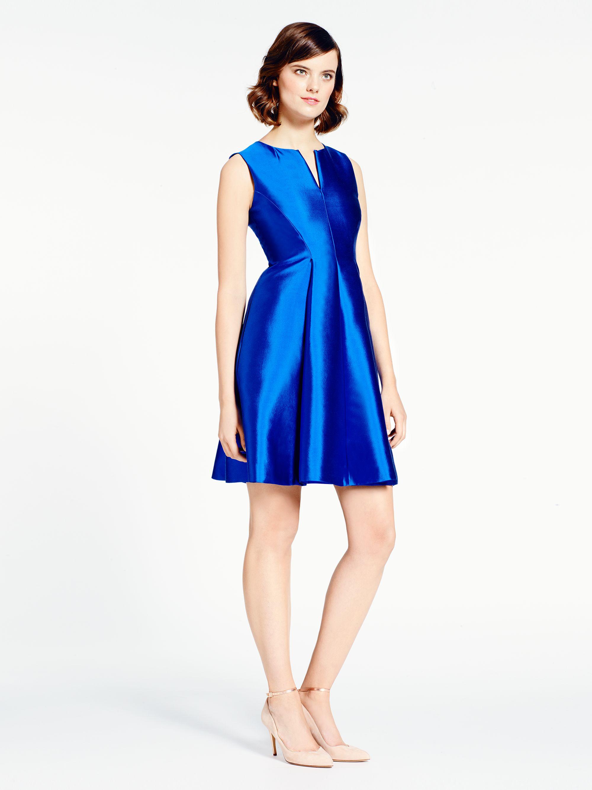Kate Spade New York Charleen Dress In Blue Lyst